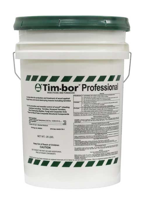 TIM-BOR termiticide used by Florida State Tent-less Termite Treatment