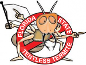 Florida State Tentless Termite Treatment Woody Cartoons